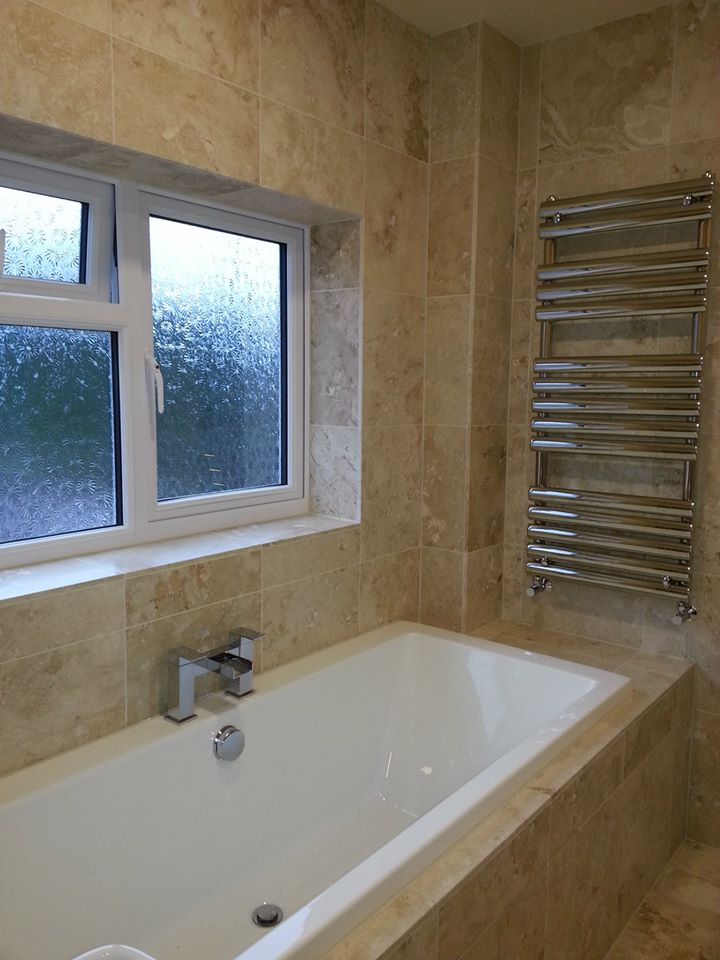 home of tiling-travertin tiles-glass and marble mosaic-Sale-Cheshire